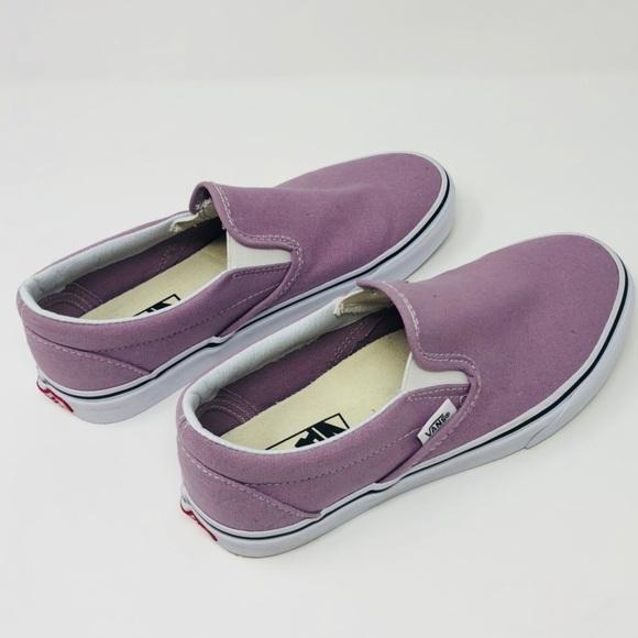 eff2de896d Vans Slip On Skate Shoe NEW 6.5 Sea Fog (purple). M 5a6f7c033316271cc1d31e74